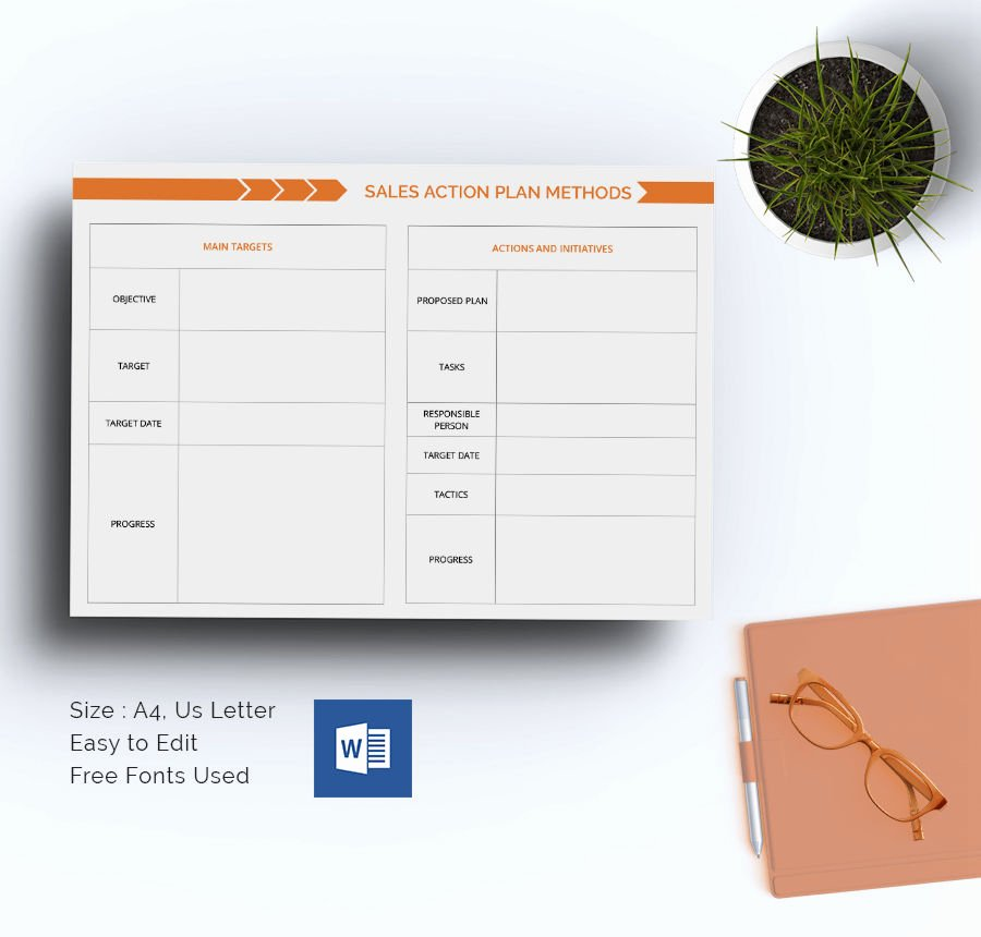 Sales Action Plan Template Lovely 27 Sales Action Plan Templates Doc Pdf Ppt