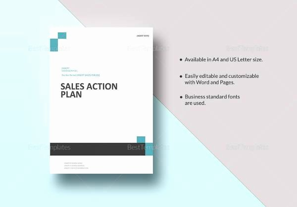 Sales Action Plan Template New 29 Sales Plan Templates Pdf Rtf Ppt Word Excel