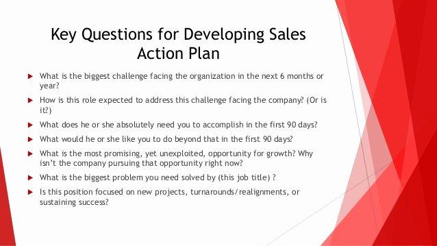 Sales Action Plan Template Unique 30 60 90 Day Sales Action Plan