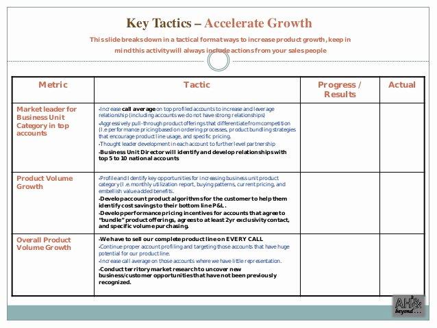 Sales Business Plan Template Fresh Sales Plan Templates