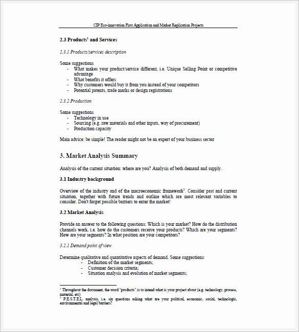 Sales Business Plan Template Unique Sales Business Plan Template 12 Pdf Word format