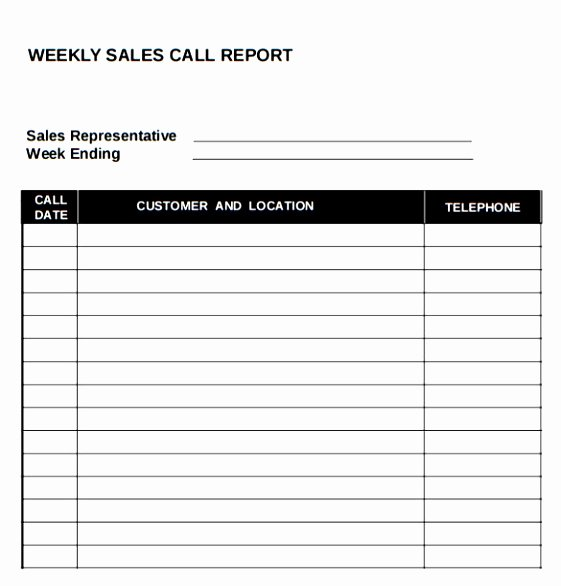 Sales Calling Plan Template Lovely 10 Sales Call Planning Template Tiury