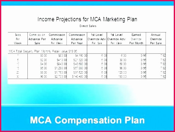 Sales Compensation Plan Template Excel Luxury 4 total Pensation Template Excel