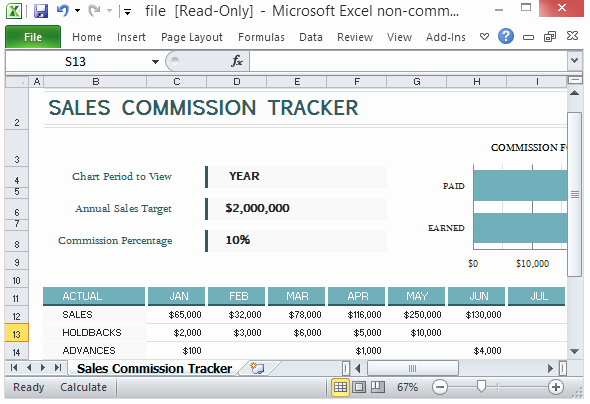 Sales Compensation Plan Template Excel New Sales Mission Tracking Template for Microsoft Excel