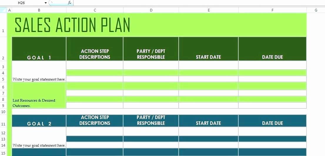 Sales Performance Improvement Plan Template Luxury Free Performance Improvement Plan Template Action School