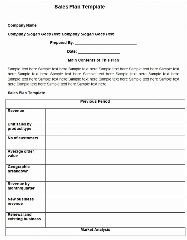 Sales Plan Template Word Awesome 27 Sales Action Plan Templates Doc Pdf Ppt