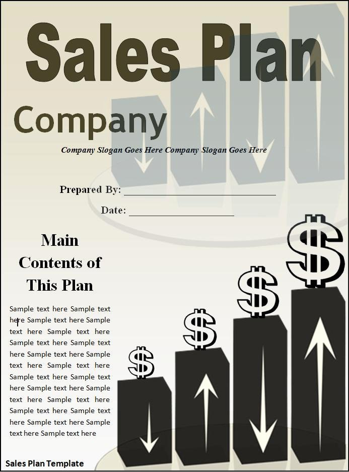 Sales Plan Template Word Inspirational 10 Sales Plan Templates