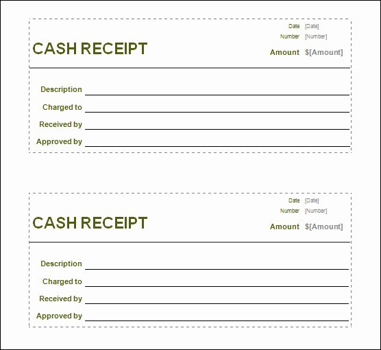 Sales Receipt Template Pdf Inspirational Blank Receipt Template