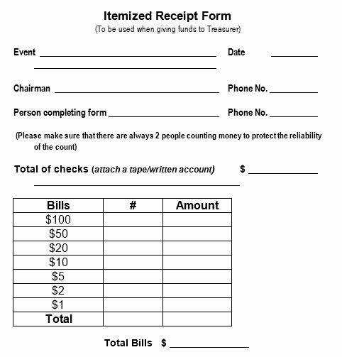 Sales Receipt Template Word Fresh 50 Free Receipt Templates Cash Sales Donation Taxi