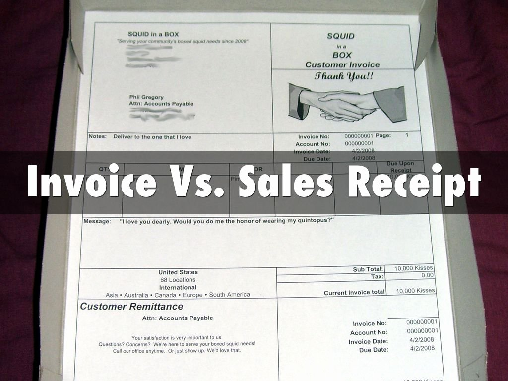 Sales Receipt Vs Invoice Inspirational Chapter 2 by Michell Boldt