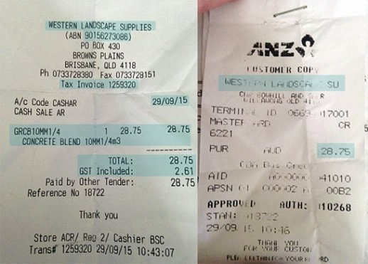 Sales Receipt Vs Invoice Inspirational Difference Between Tax Receipt & Eftpos Docket