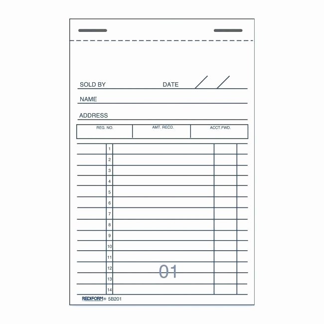 Sales Receipt Vs Invoice Luxury Sales Receipt Books 2 Part Tax Invoice Receipts Custom