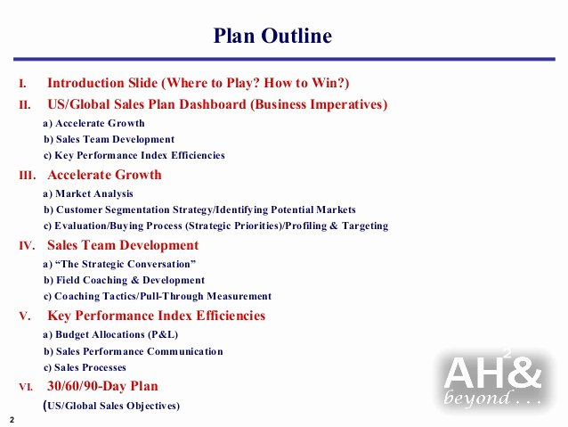 Sales Rep Business Plan Template Luxury Example Global Sales & Marketing Business Plan