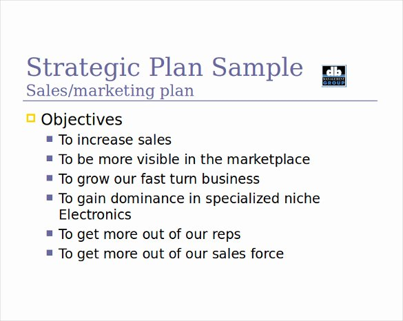 Sales Strategy Plan Template Awesome 12 Sales Strategy Templates Doc Pdf