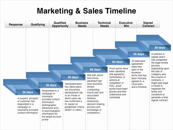 Sales Strategy Plan Template Elegant Marketing Timeline Template – 7 Free Excel Pdf Documents