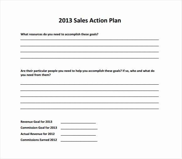Sales Strategy Plan Template Elegant top 4 Resources to Get Free Sales Plan Templates Word