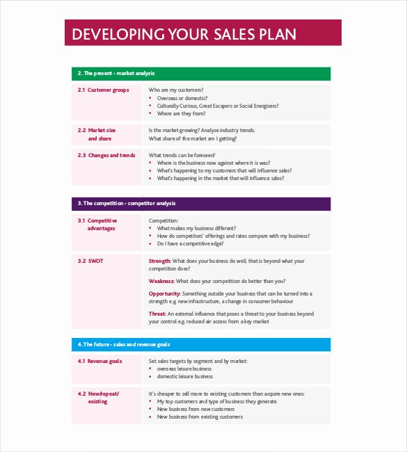 Sales Strategy Plan Template New Strategy Template – 19 Free Word Excel Pdf Document