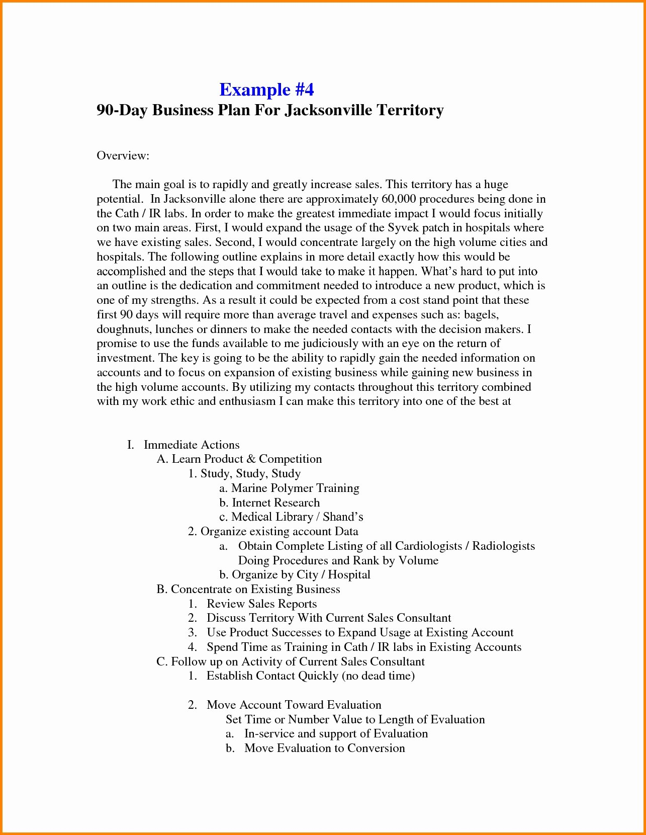 Sales Territory Plan Template Luxury Sales Business Plan Template Free Best solutions