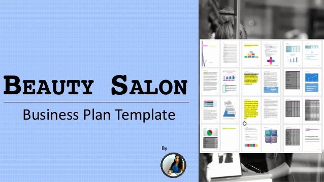 Salon Business Plan Template Awesome Beauty Salon Business Plan Template