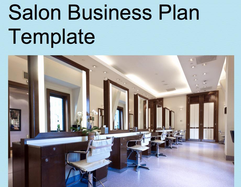 Salon Business Plan Template Fresh Salon Business Plan Template Black Box Business Plans