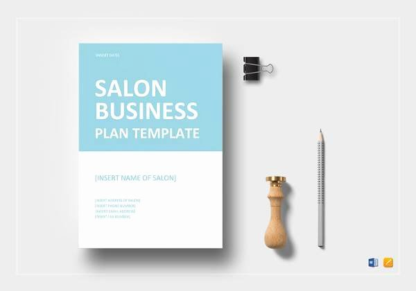 Salon Business Plan Template Lovely 21 Simple Business Plan Templates