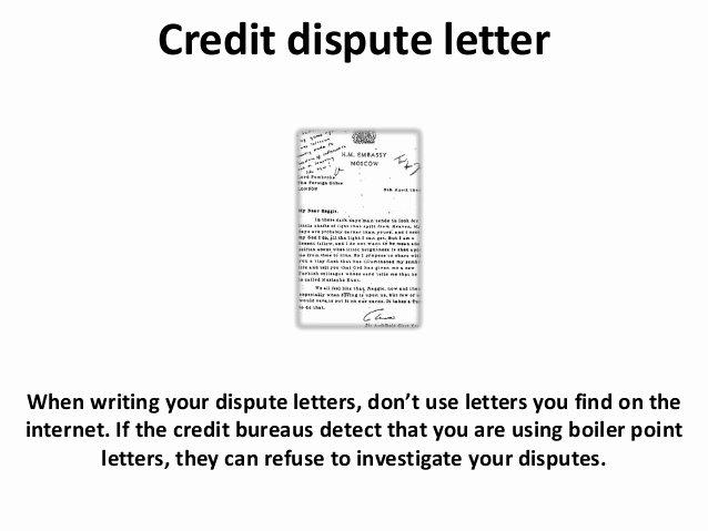 Sample Credit Repair Letter Lovely Credit Dispute Letter and Credit Repair Tips