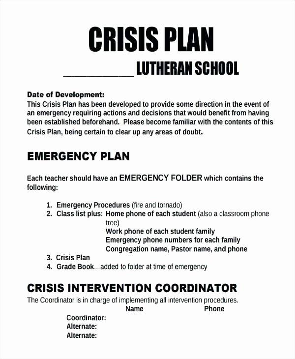 Sample Crisis Communication Plan Template Luxury School Crisis Munication Plan Template Munication
