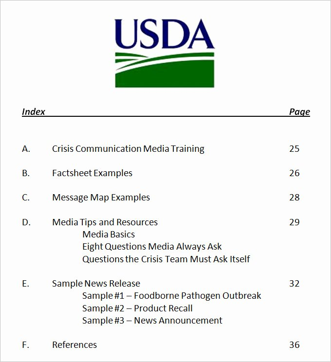Sample Crisis Communication Plan Template New 3 Crisis Munication Plan Templates Doc Pdf