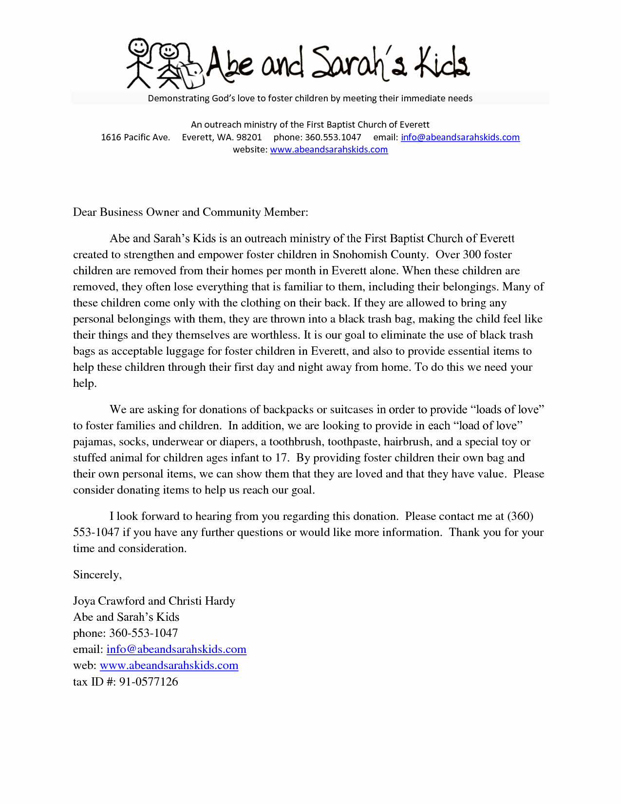 Sample Fundraising Letter for Mission Trip Beautiful Sample Church Donation Letter