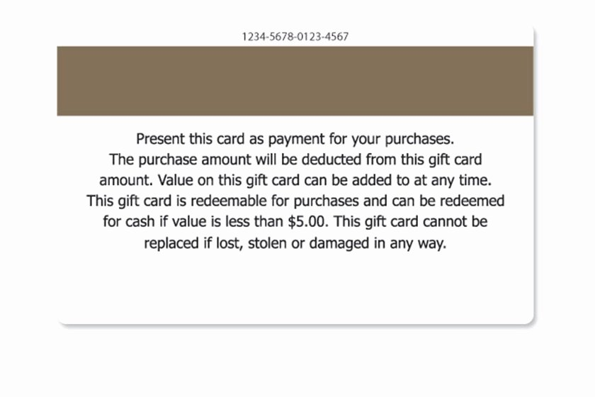 Sample Gift Certificate Wording Best Of Gift Card Terms and Conditions Samples