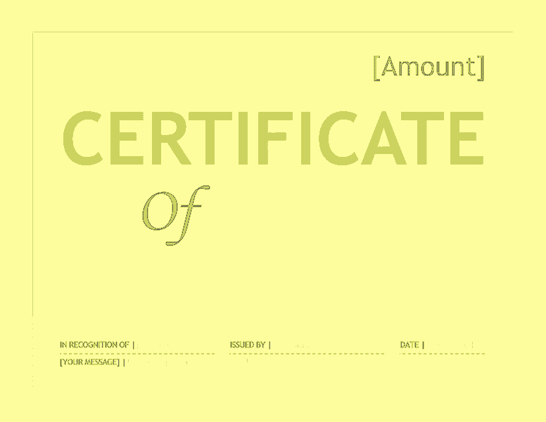 Sample Gift Certificate Wording Best Of Gift Certificate Template Word 2016 Free Certificate