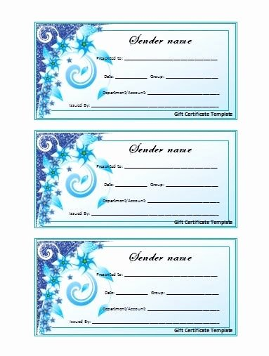 Sample Gift Certificate Wording Fresh Wording for A T Certificate T Certificate Voucher
