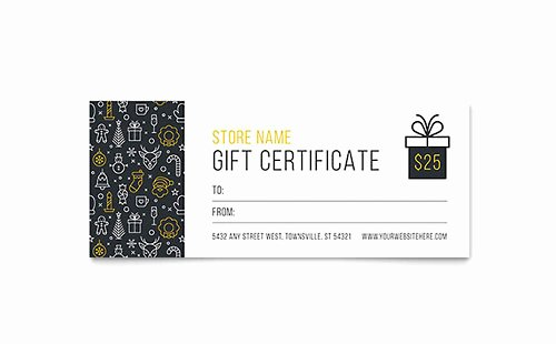 Sample Gift Certificate Wording Luxury Gift Certificate Templates Microsoft Word & Publisher