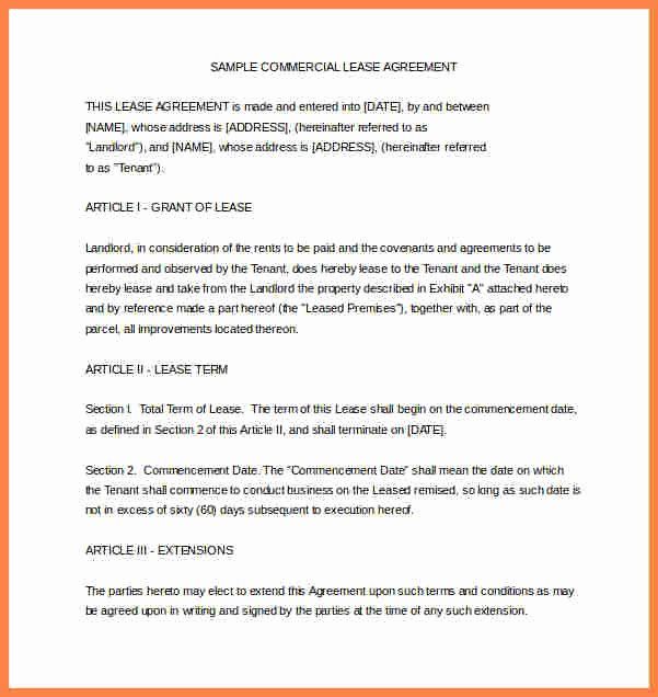 Sample Home Buyout Agreement New 6 Sample House Rental Agreement Word format