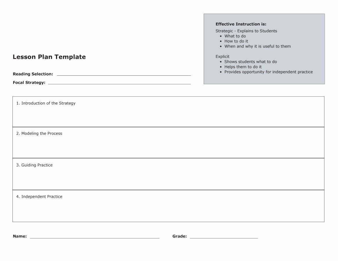 Sample Lesson Plan Template Best Of 44 Free Lesson Plan Templates [ Mon Core Preschool Weekly]