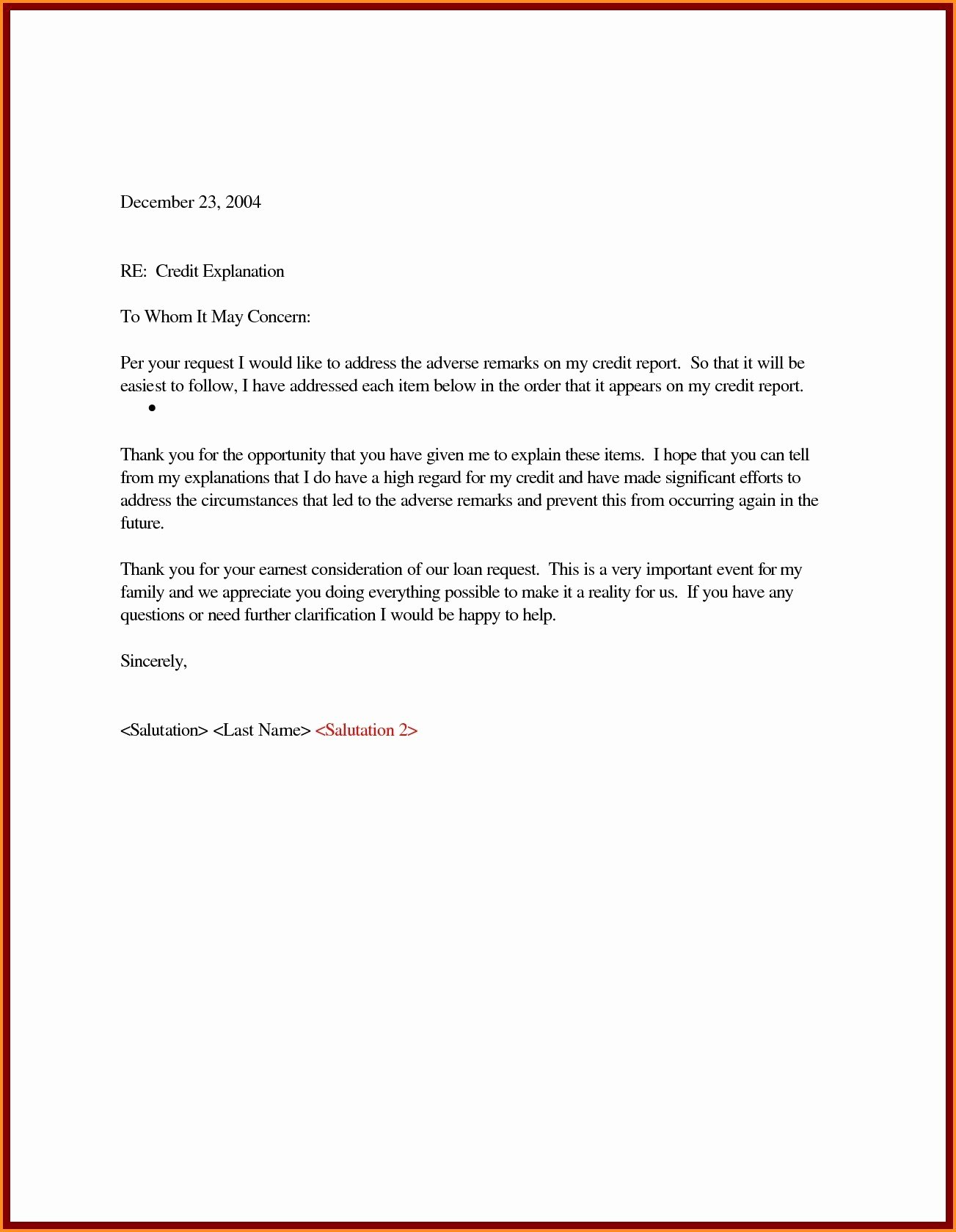 Sample Letter Of Explanation for Bankruptcy Awesome Valid Letter Explanation for Mortgage Lender Template