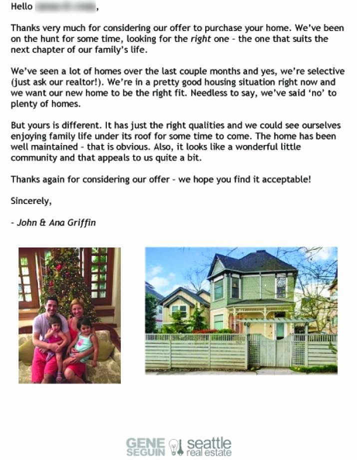 Sample Letter Of Explanation for Buying Second Home Inspirational Dear Seller Letters Work for Home Ers Seattlepi