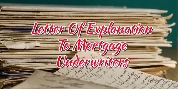 Sample Letter Of Explanation for Cash Out Refinance Inspirational Letter Explanation to Mortgage Underwriters