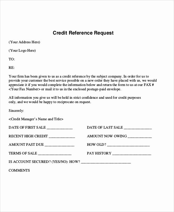 reference request letter