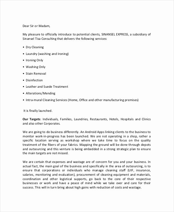 Sample Marketing Letters to Potential Clients Lovely 26 Business Proposal Letter Examples Pdf Doc