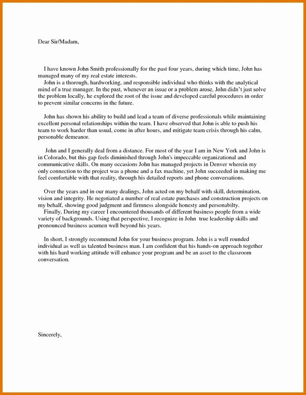 Sample Mba Recommendation Letter Inspirational What Contributes to A Strong Mba Re Mendation Letter