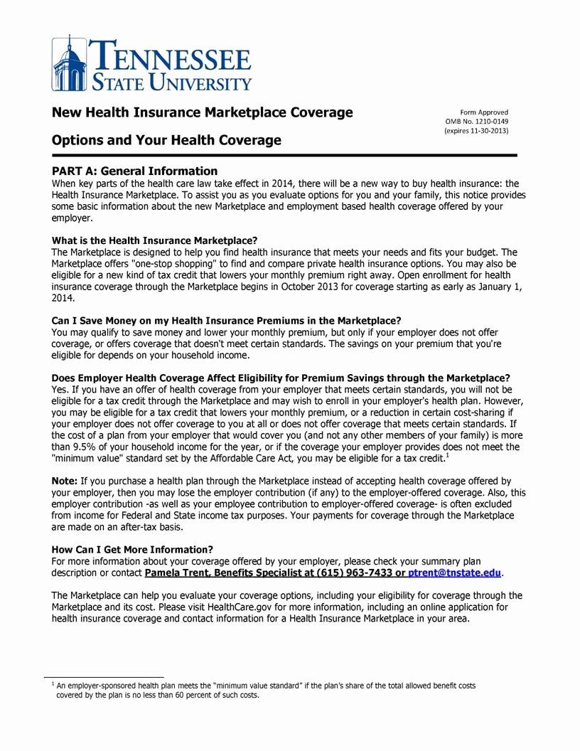 Sample Open Enrollment Letter to Employees Best Of 9 Best Of Health Insurance Open Enrollment Notice
