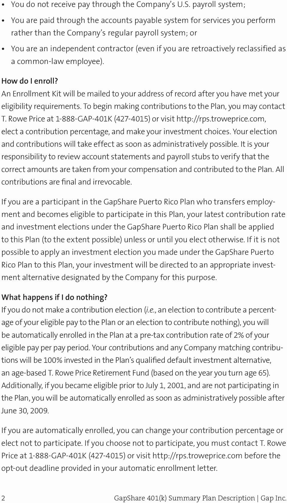 Sample Open Enrollment Letter to Employees Lovely 401k Employee Enrollment Letter