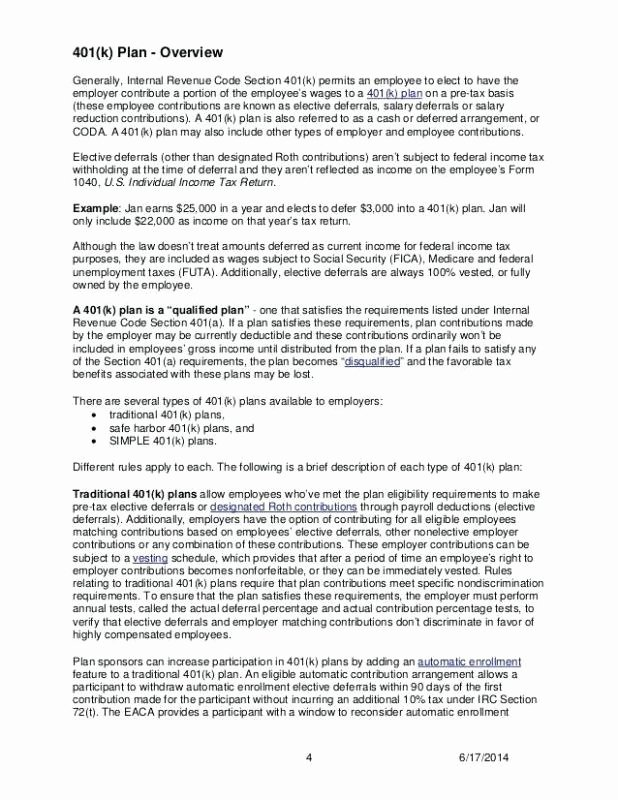 Sample Open Enrollment Letters Elegant 401k Employee Enrollment Letter