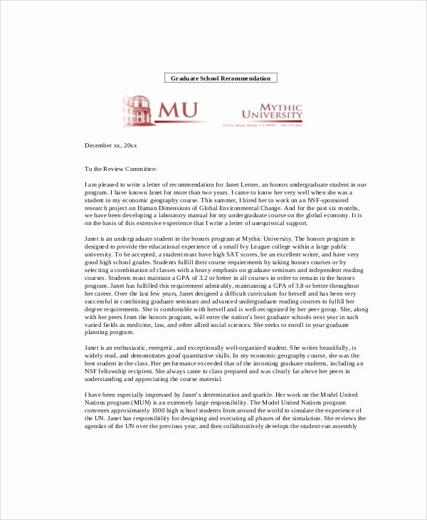 Sample Peer Recommendation Letter Beautiful Letter Of Re Mendation Peer Letter Of Re Mendation