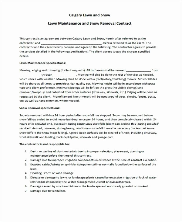 Sample Private Road Maintenance Agreement Best Of Maintenance Service Contract Sample – Trezvost