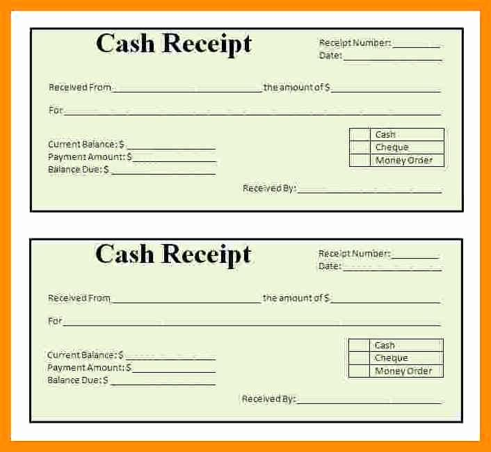 Sample Receipt for Cash Payment Best Of 11 Payment Receipt