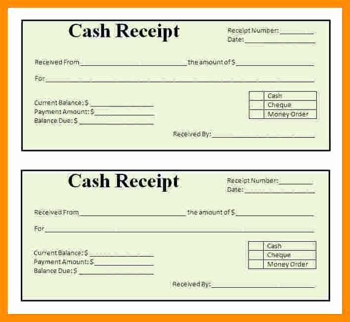 Sample Receipt for Cash Payment Best Of 11 Payment Receipt