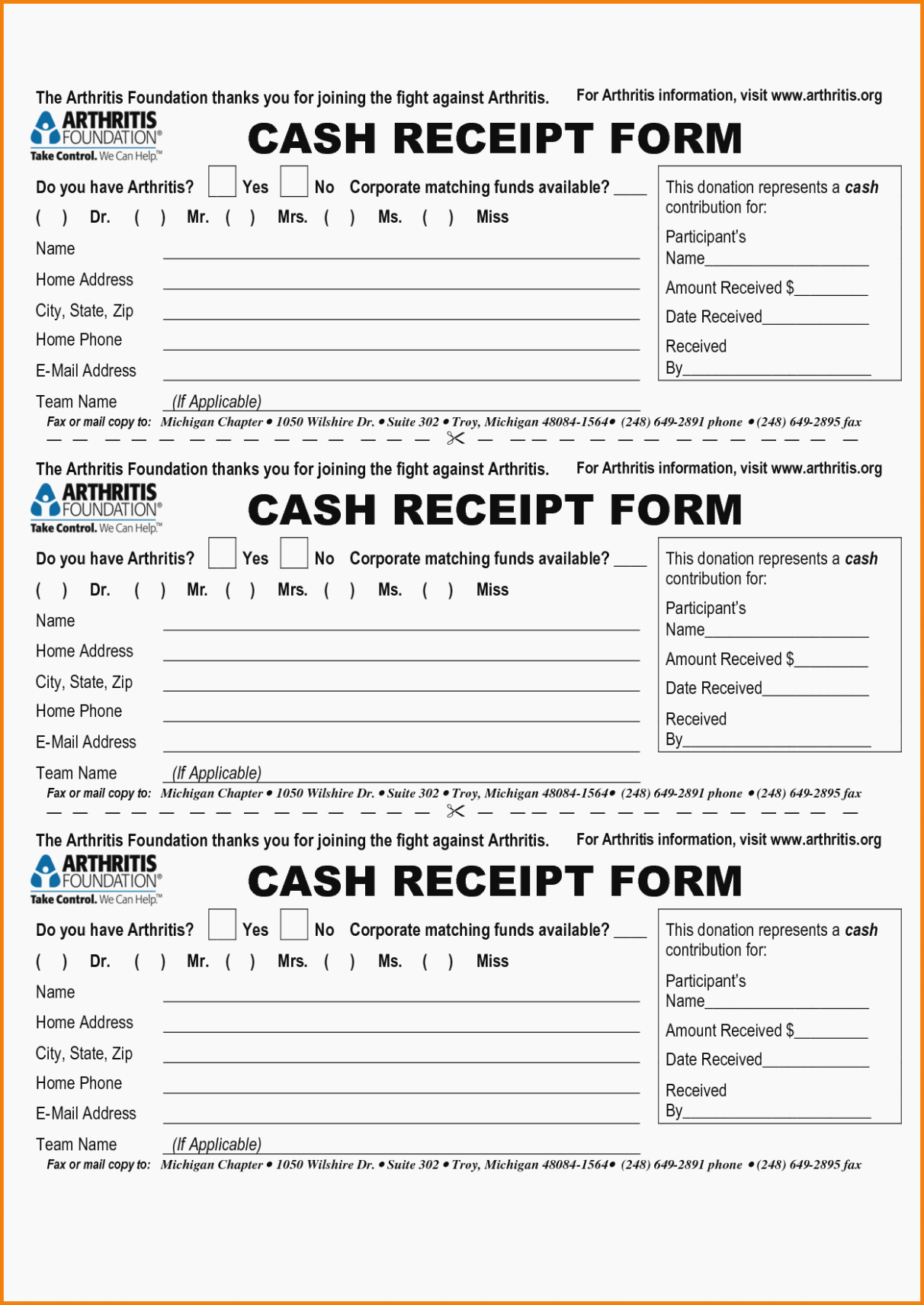 Sample Receipt for Cash Payment Unique This is why Free Printable