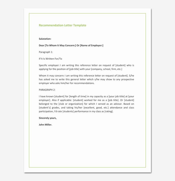 Sample Recommendation Letter for Promotion Best Of Re Mendation Letter for Promotion Free Samples & formats